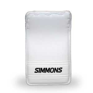 simmons-999-intermediate-pro-goalie-blocker-white-front