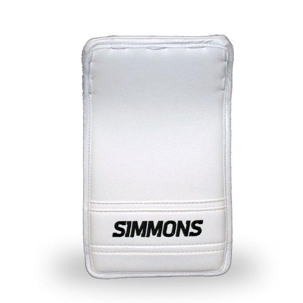 simmons-999-intermediate-pro-goalie-blocker-white-front