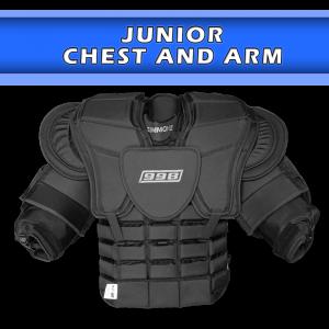 Jr. Goalie Chest and Arm