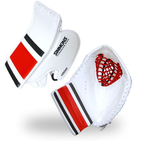 2-piece-combo-simmons-1000-pro-stripe-goalie-equipment