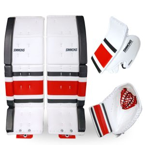 3-piece-combo-simmons-1000-pro-stripe-goalie-equipment