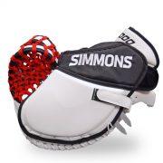 simmons-1000-goalie-catcher-stripe-fingers-white-black-red