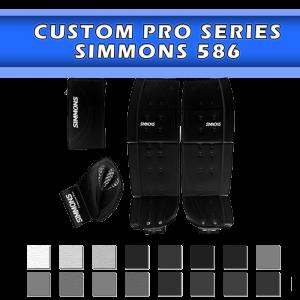 Simmons 586 Pro (Pads, Catcher, Blocker)