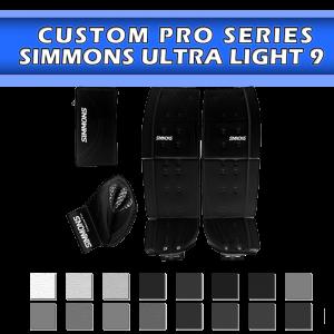 Simmons Ultra Light 9 (Pads, Catcher, Blocker)