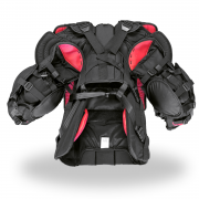 Simmons-1000-Pro-Chest-and-Arm-Back-Black-Red