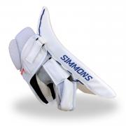Simmons-ULX-Pro-Goalie-Blocker-White-Red-Black-Fringers