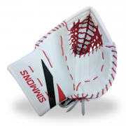 Simmons-ULX-Pro-Goalie-Catcher-White-Red-Black-Front